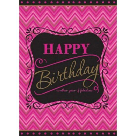 Happy Birthday Asztalterítő